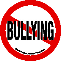 No Bully Decal, three inches