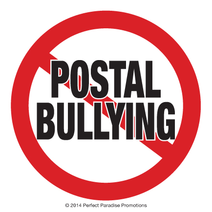 No Postal Bullying six by six